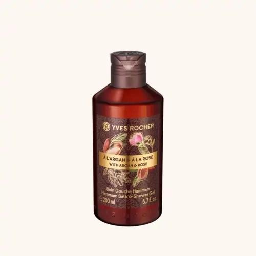 Gel de duș Argan & Trandafir Bio din Maroc