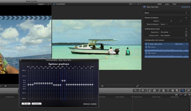 Final Cut Pro X en montage