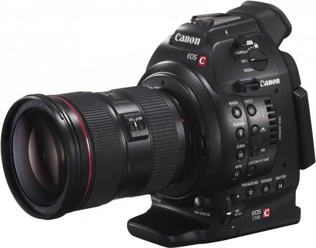 Canon C100-4K