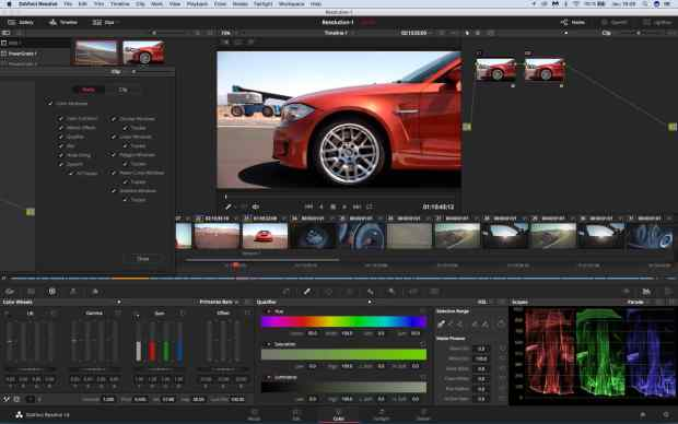 Stages Etalonnage sur Da Vinci Resolve 15