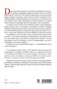 4e Couverture Montenay-Soupart-Langue Française