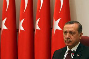 Erdogan, président de la Turquie
