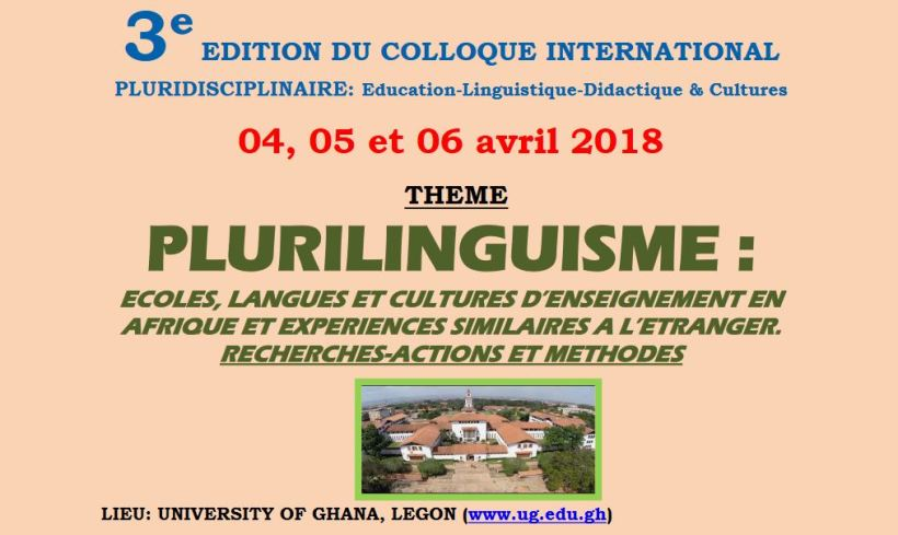 Colloque Ghana avril 2018