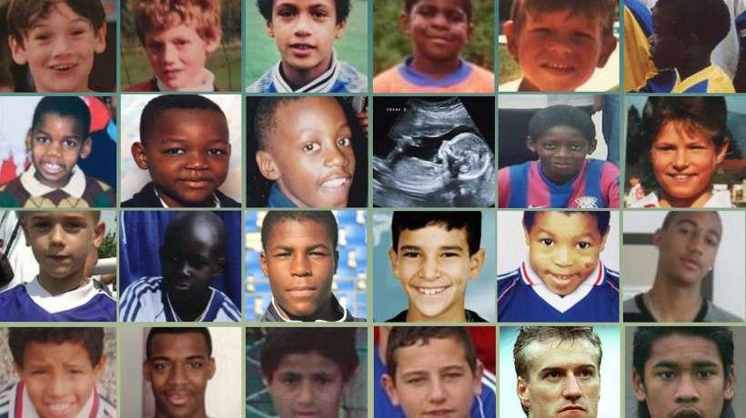 Les Bleus de 2018 en 1998 - photo ©Maxppp pour FootMercato