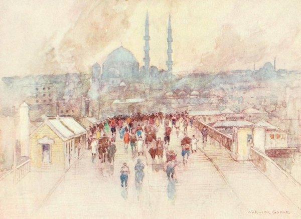 Constantinople 1906 par Warwick Goble