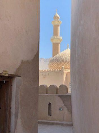 Une citadelle et sa mosquée