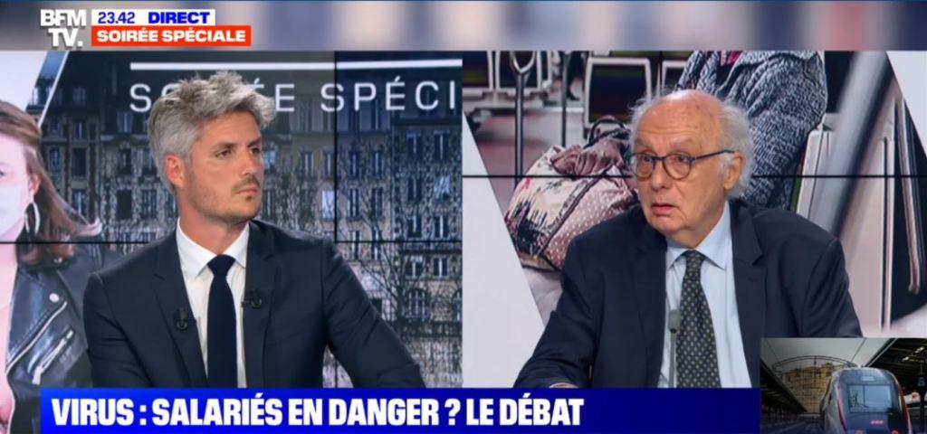 débat déconfinement BFM TV