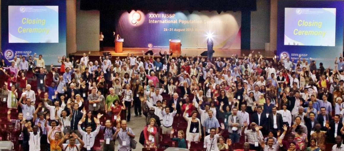 27e Congrès international de la population à Busan, en Corée du Sud, du 26 au 31 août 2013.