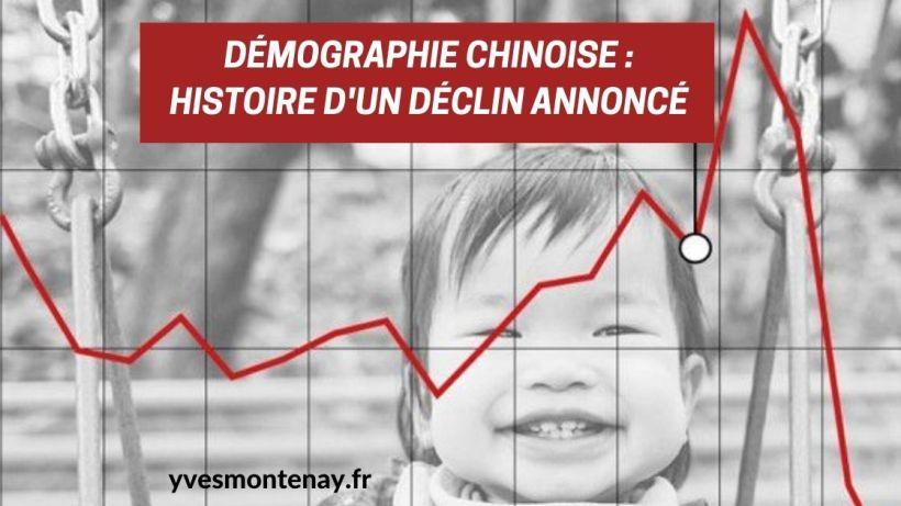 Démographie chinoise histoire d'un déclin annoncé