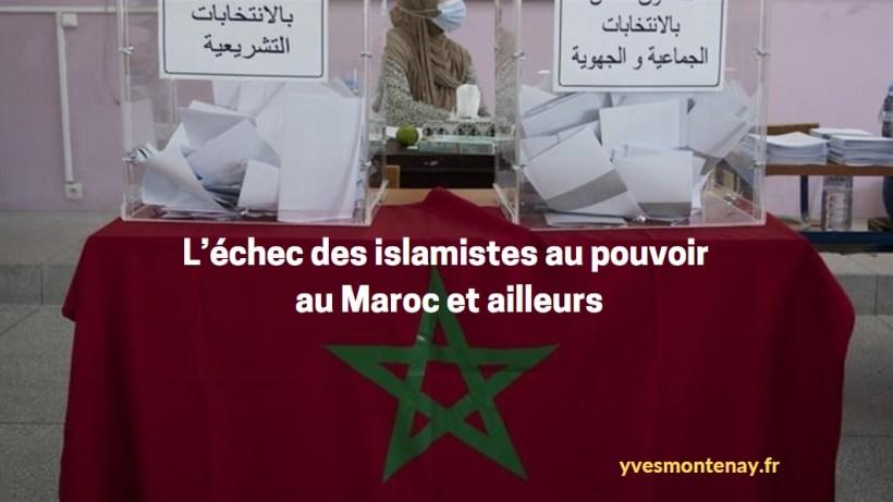 L'échec des islamistes au pouvoir, au Maroc et ailleurs