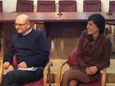 """Biancavilla, presentazione del romanzo di Sergio Mangiameli """"Come la terra"""". Pietro Nicosia e Natasha Puglisi"""