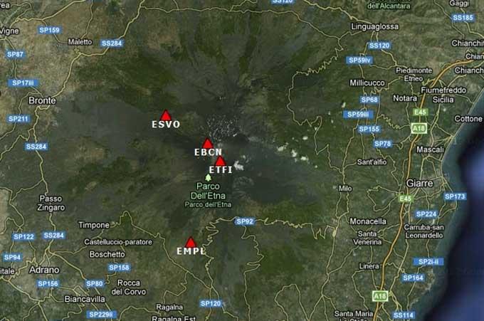 Etna, terremoto con epicentro nel versante est