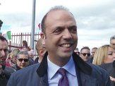 Adrano, il Ministro dell'Interno Angelino Alfano