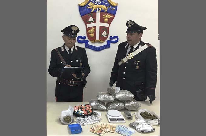 """Paternò, blitz antidroga: due in manette e sequestro di 3 chili di """"marijuana"""""""