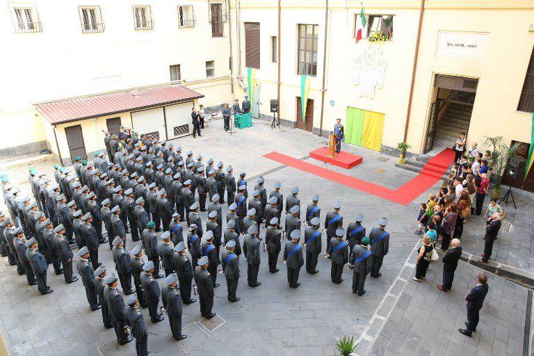 Catania, Guardia di Finanza: celebrato oggi il 242° anniversario della fondazione del Corpo