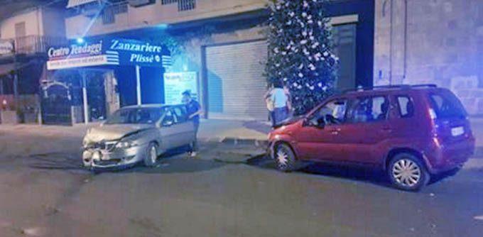 Biancavilla, ieri sera incidente in viale dei Fiori