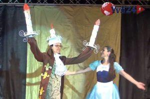 """Un momento del musical """"La Bella e la Bestia"""""""