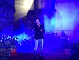 Il cantante Nico Bruno