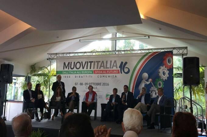 """Catania: al """"Muovititalia 2016"""" il centro destra prepara la candidatura del presidente 2017"""