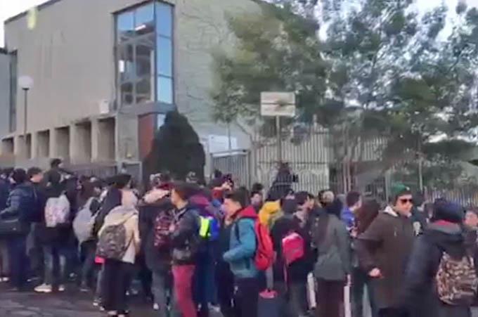 """Adrano: riscaldamento guasto, sciopero al Liceo """"Verga"""""""