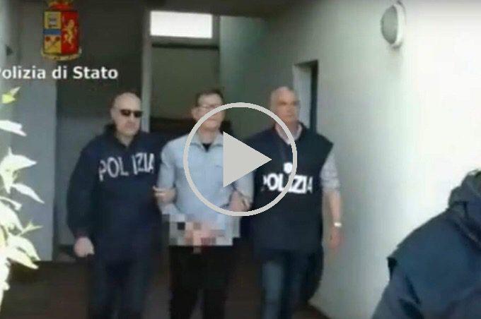 """Pistoia: arrestato il boss Concetto Bonaccorsi capo del clan mafioso """"carateddi"""""""