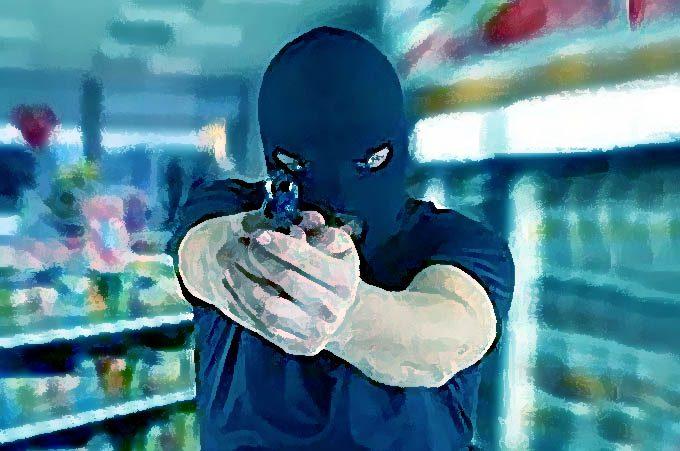 Adrano, rapina al Conad di via Catania: esploso colpo in aria da pistola a salve