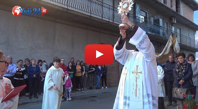 Biancavilla, ieri la processione di San Pasquale