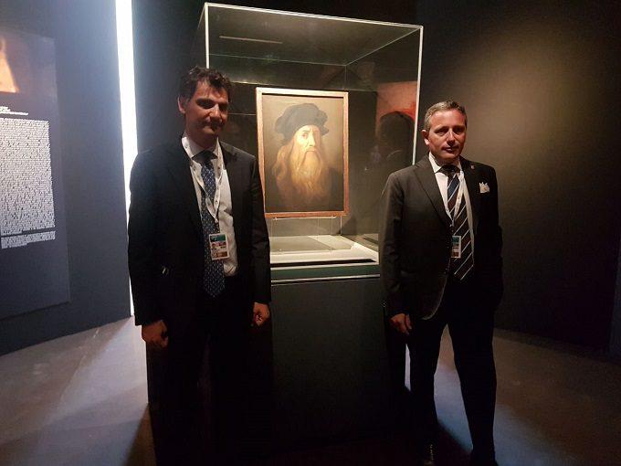 """Taormina, la """"Tavola Lucana"""" di Leonardo Da Vinci al G7"""