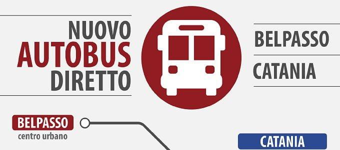 Belpasso, da lunedi 12 giugno nuovo bus diretto a Catania Metro Nesima