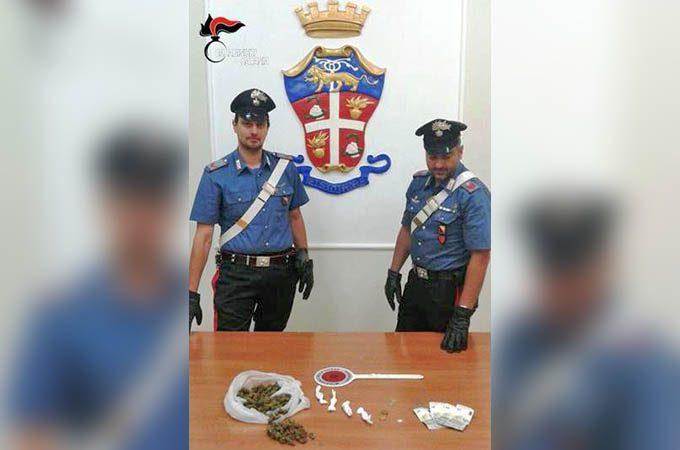Paternò, arrestato spacciatore 21enne