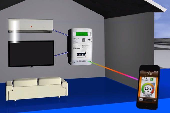 Energia elettrica: al via l'installazione del contatore che dialoga con lo smartphone