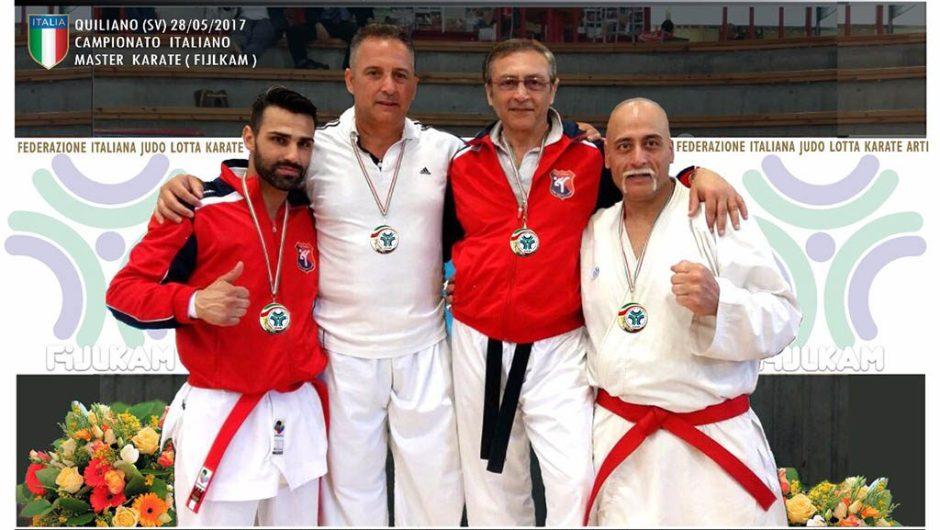 Karate: quattro paternesi campioni nazionali master