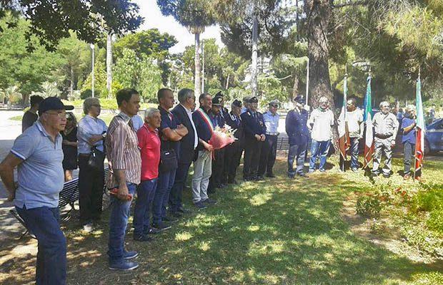 Adrano, cerimonia in ricordo della strage di via D'Amelio