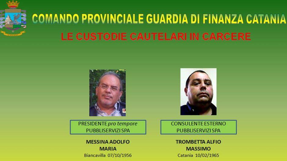 Appalti pilotati alla Pubbliservizi: 6 arresti fra cui l'ex presidente Adolfo Messina