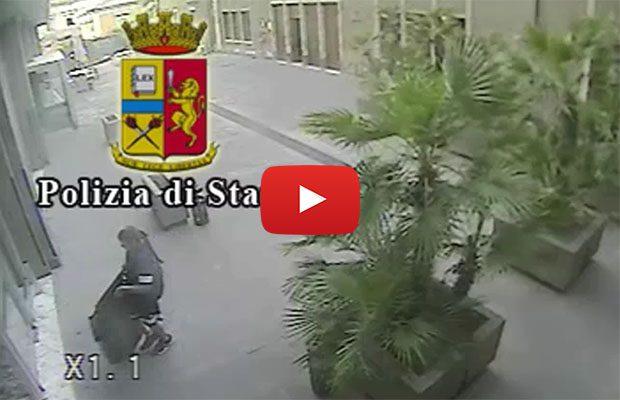Catania. Furto computer a Giurisprudenza: denunciati in due (VIDEO del furto)