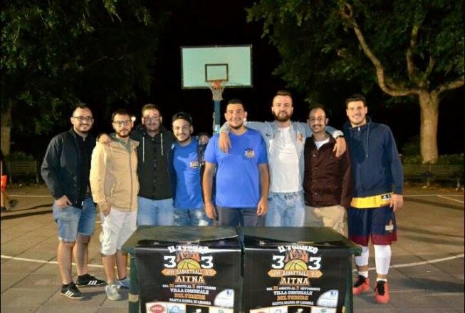 Santa Maria di Licodia, Dream Team e Cappellone Boy vincono l'Aitna Basketball 3 vs 3