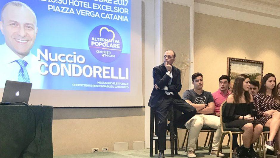 """Nuccio Condorelli: """"Le mie idee per la nostra terra"""""""