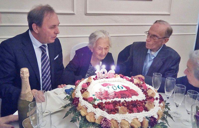 Paternò, 106 candeline per nonna Consolazione