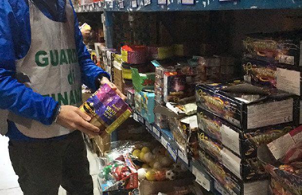 Catania e provincia, ingente sequestro botti di Capodanno