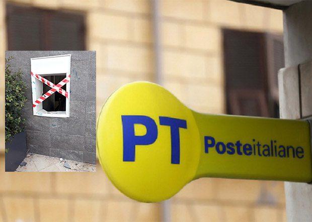 Belpasso, furto al bancomat dell'ufficio postale di via Fiume