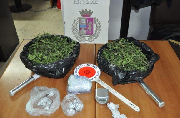 Adrano. Arrestati tre giovani per droga