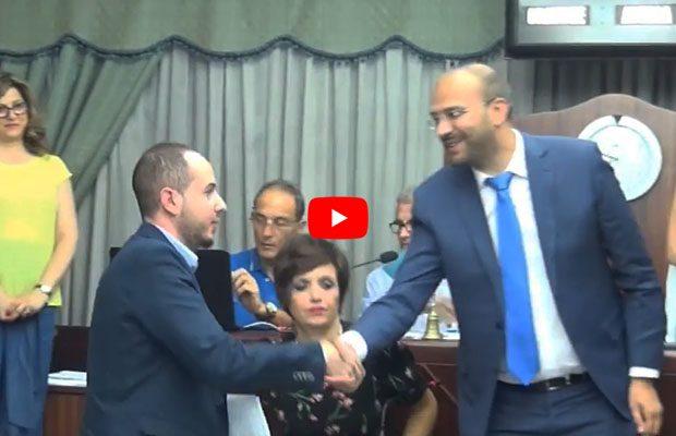 Biancavilla, Marco Cantarella presidente del Consiglio comunale