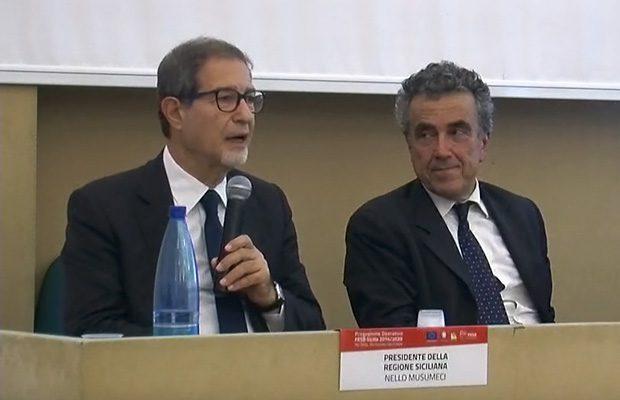 Aree interne: ieri riunione a Palermo con Barca e Musumeci. Presenti i sindaci di Adrano e Biancavilla