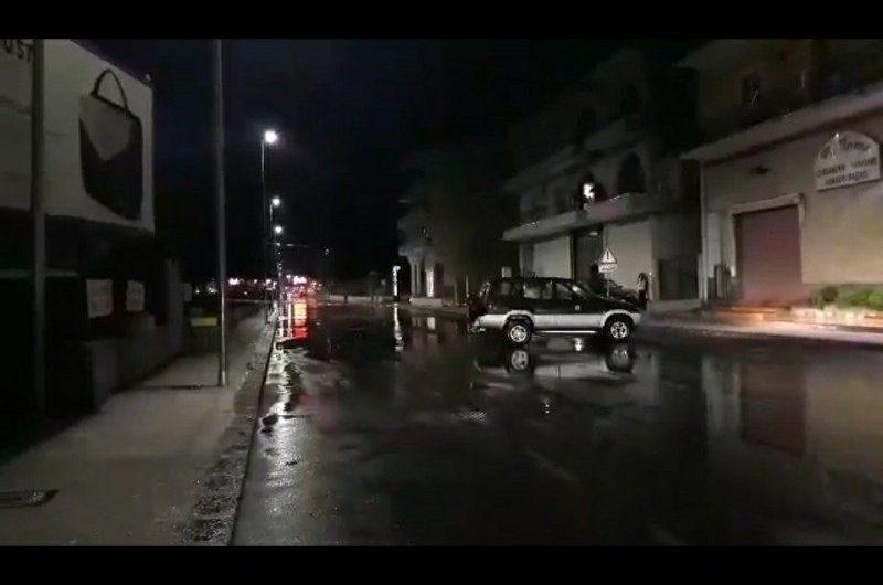 Nuova bomba d'acqua sul catanese