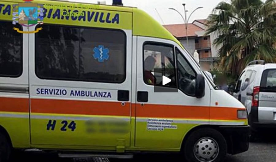 Biancavilla. Sequestrate due ambulanze irregolari