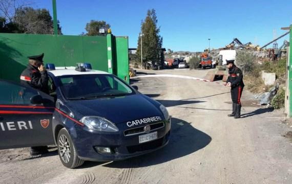 Paternò. Sequestrata cava in Contrada Pantafurna: era stata trasformata in discarica abusiva