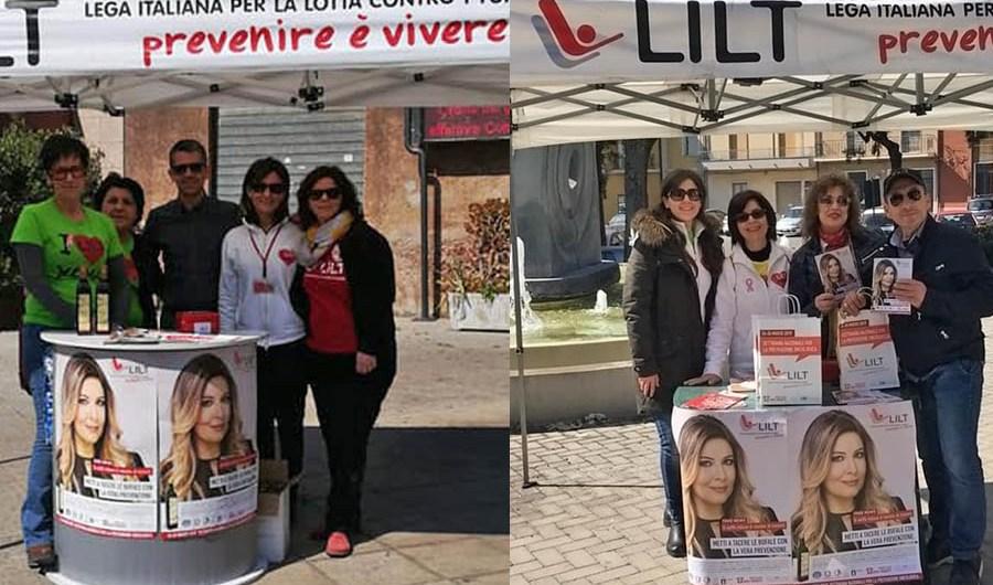 Conclusa Settimana Nazionale per la Prevenzione Oncologica della LILT a Belpasso e Camporotondo
