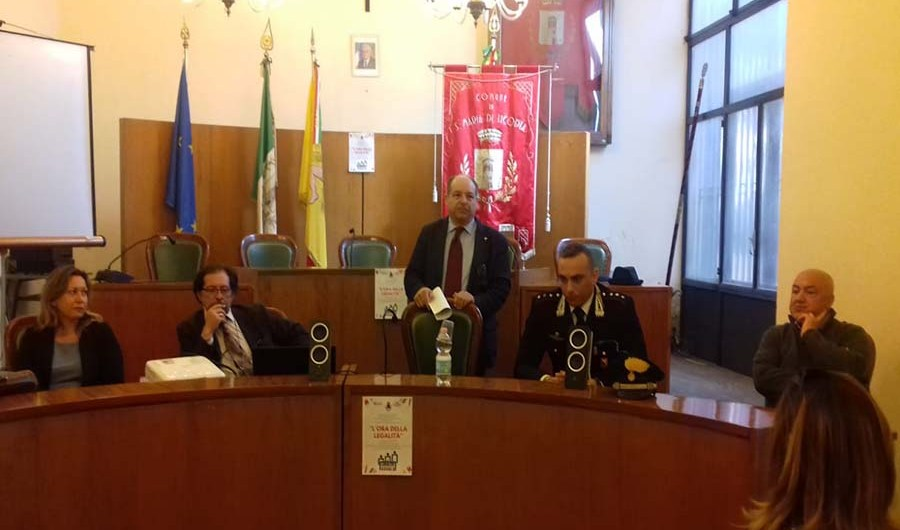 """Santa Maria di Licodia. L'alberghiero Rocco Chinnici a """"l'ora della legalità"""""""