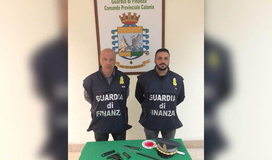 Arrestato 46enne di Adrano al Porto di Catania per la detenzione di una pistola