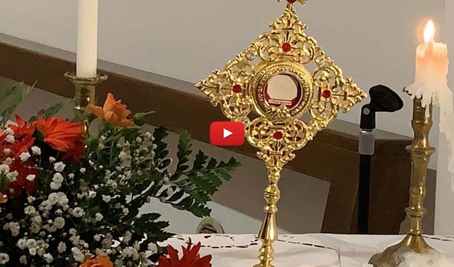 Biancavilla. Reliquia di San Pio da Pietrelcina all'Annunziata